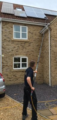Solar Panel Cleaning in Ely, Newmarket and Cambridge